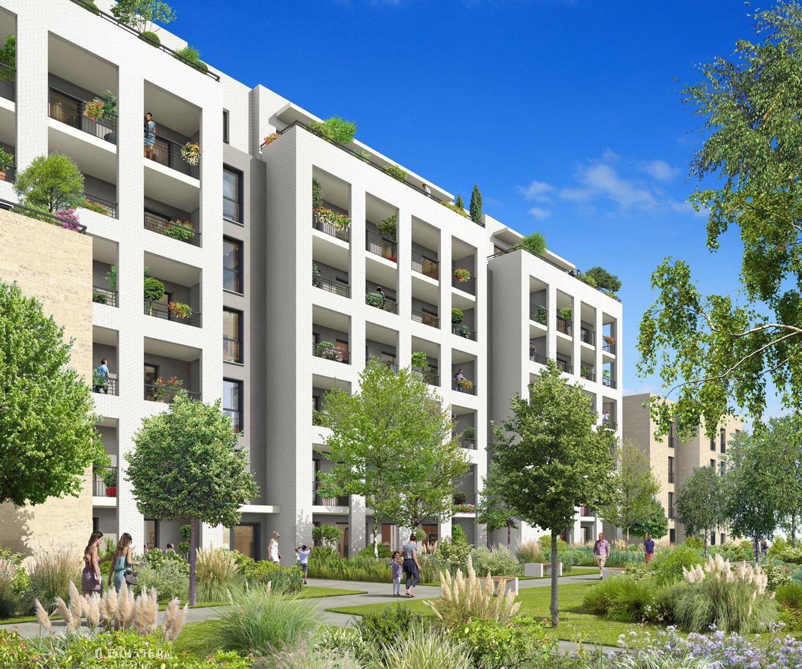 Vente programme neuf t4 f4 bordeaux quartier st jean for Appartement bordeaux 80m2