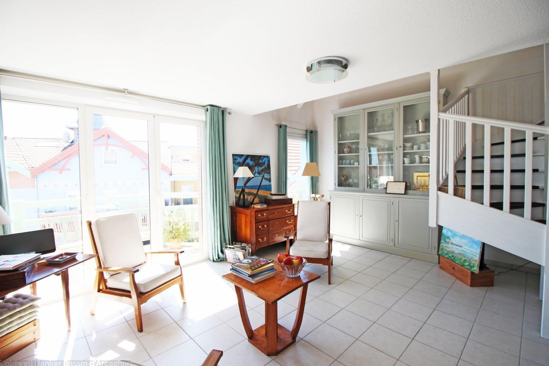 Appartement duplex a vendre arcachon