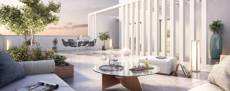 Duplex neuf de standing avec grandes terrasses LE BOUSCAT