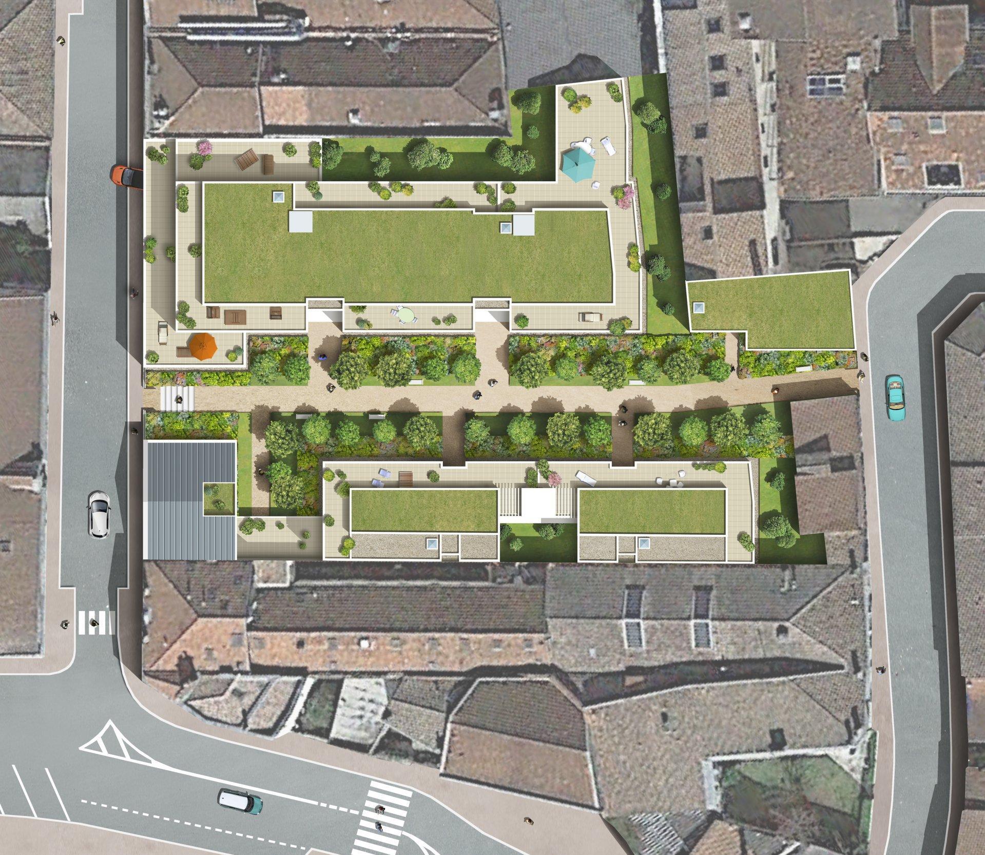 Appartement T4 neuf avec loggia proche gare et commerces à vendre BORDEAUX QUARTIER ST JEAN EURATLANTIQUE