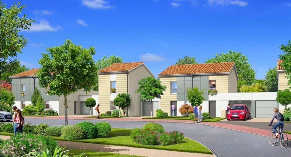 Maison de ville neuve 3 chambres avec jardin à vendre LE HAILLAN