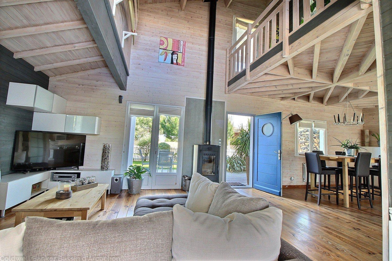 A vendre maison récente à ossature bois sur le bassin d'arcachon