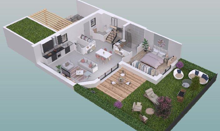Maison neuve à vendre BORDEAUX CAUDERAN