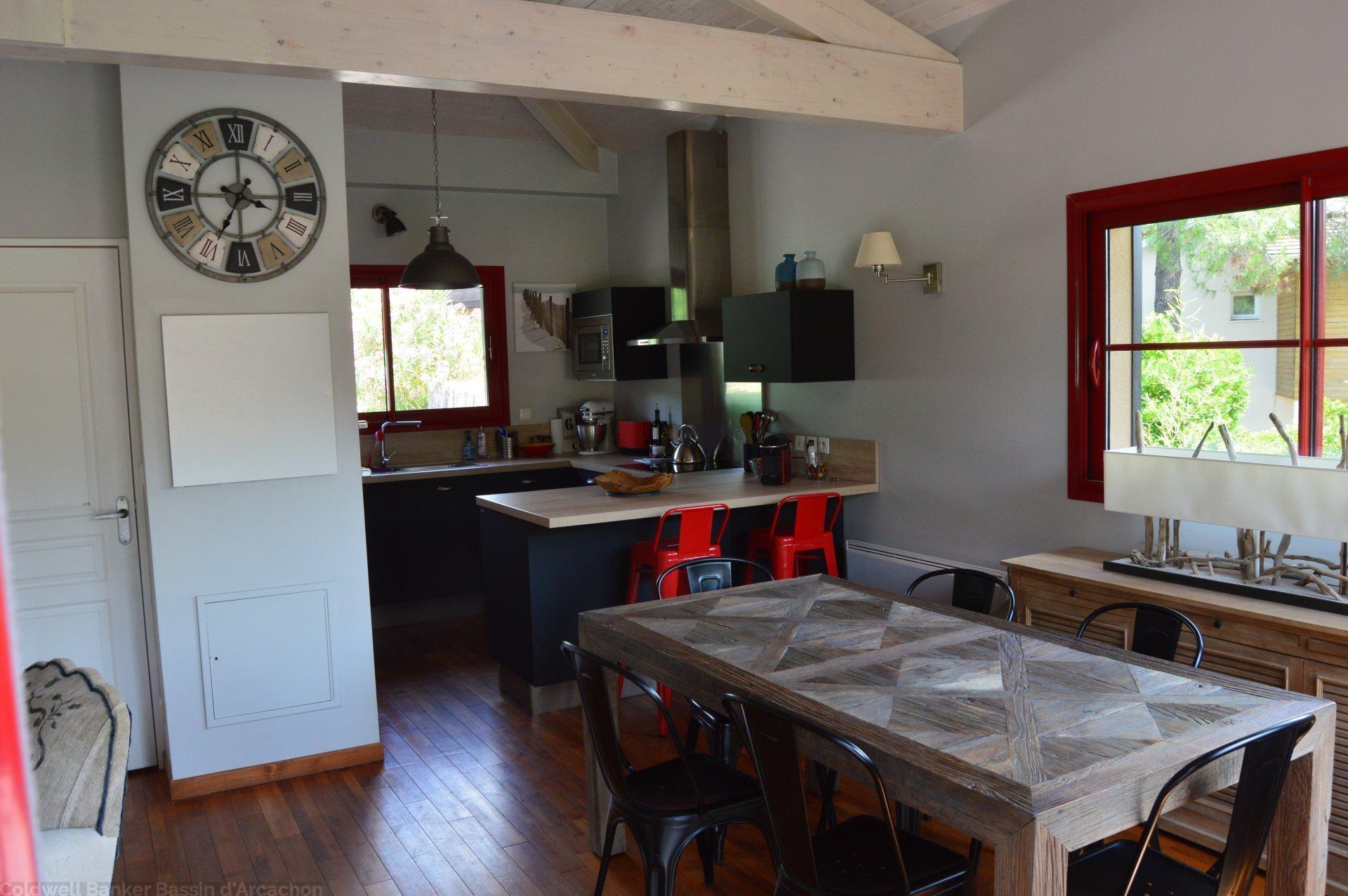 Vente maison villa lege cap ferret 2 pas de la plage coldwell banker - Achat residence secondaire ...