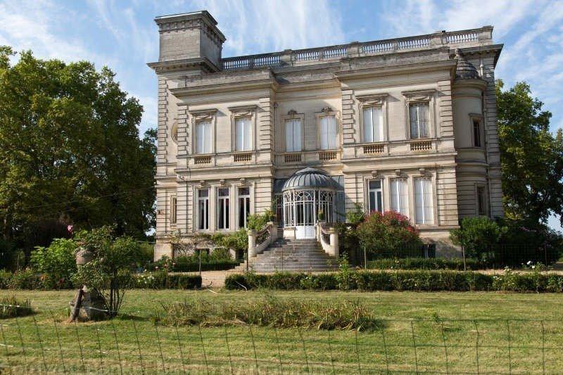 Chateau et parc a vendre pres de bordeaux sainte eulalie