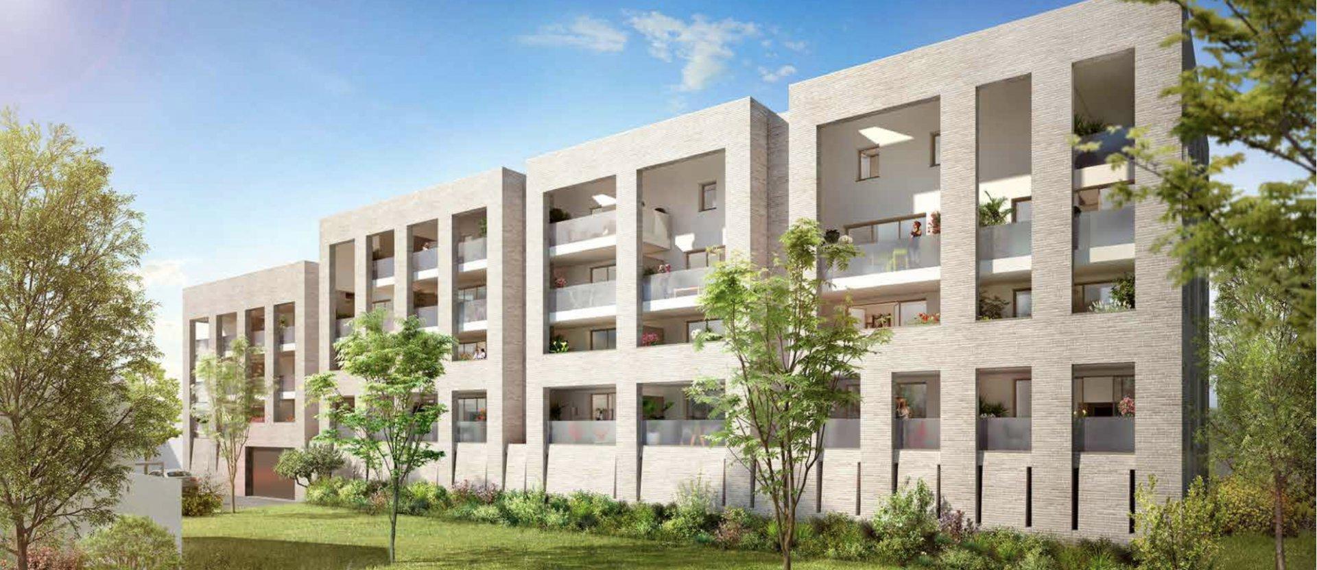 Appartement de standing neuf 3 chambres avec loggia à vendre BORDEAUX CHARTRONS