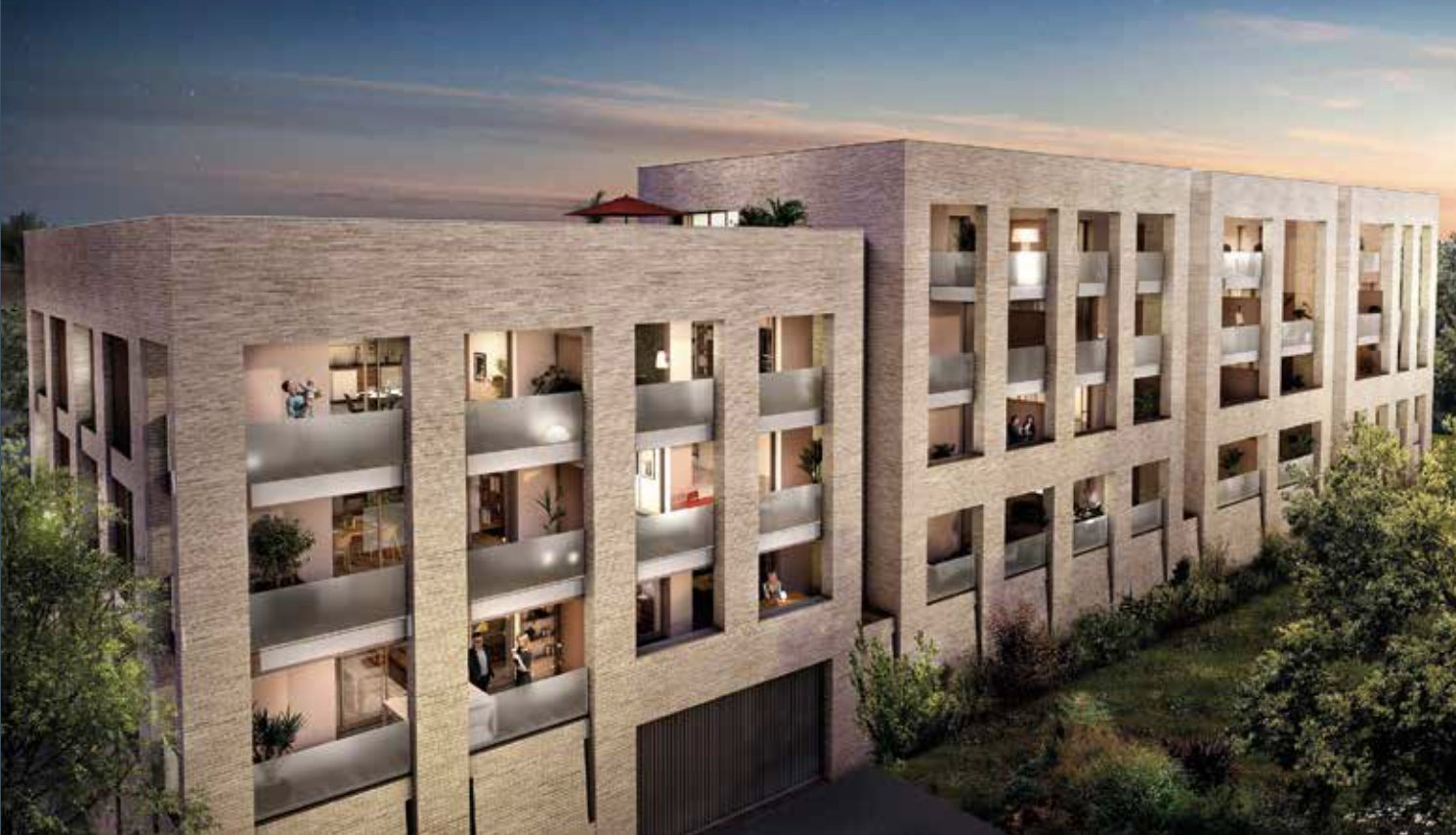 Appartement neuf 2 chambres à vendre BORDEAUX CHARTRONS