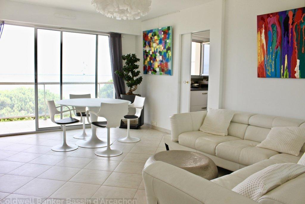 appartement avec terrasse et vue mer a vendre arcachon 33120
