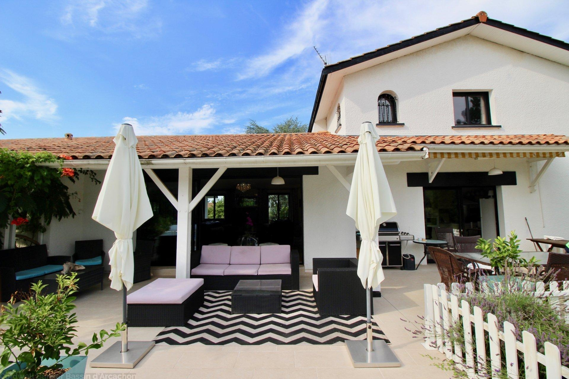 Maison familiale 6 chambres avec piscine à vendre proche Bordeaux SAINT-SULPICE-ET-CAMEYRAC ...