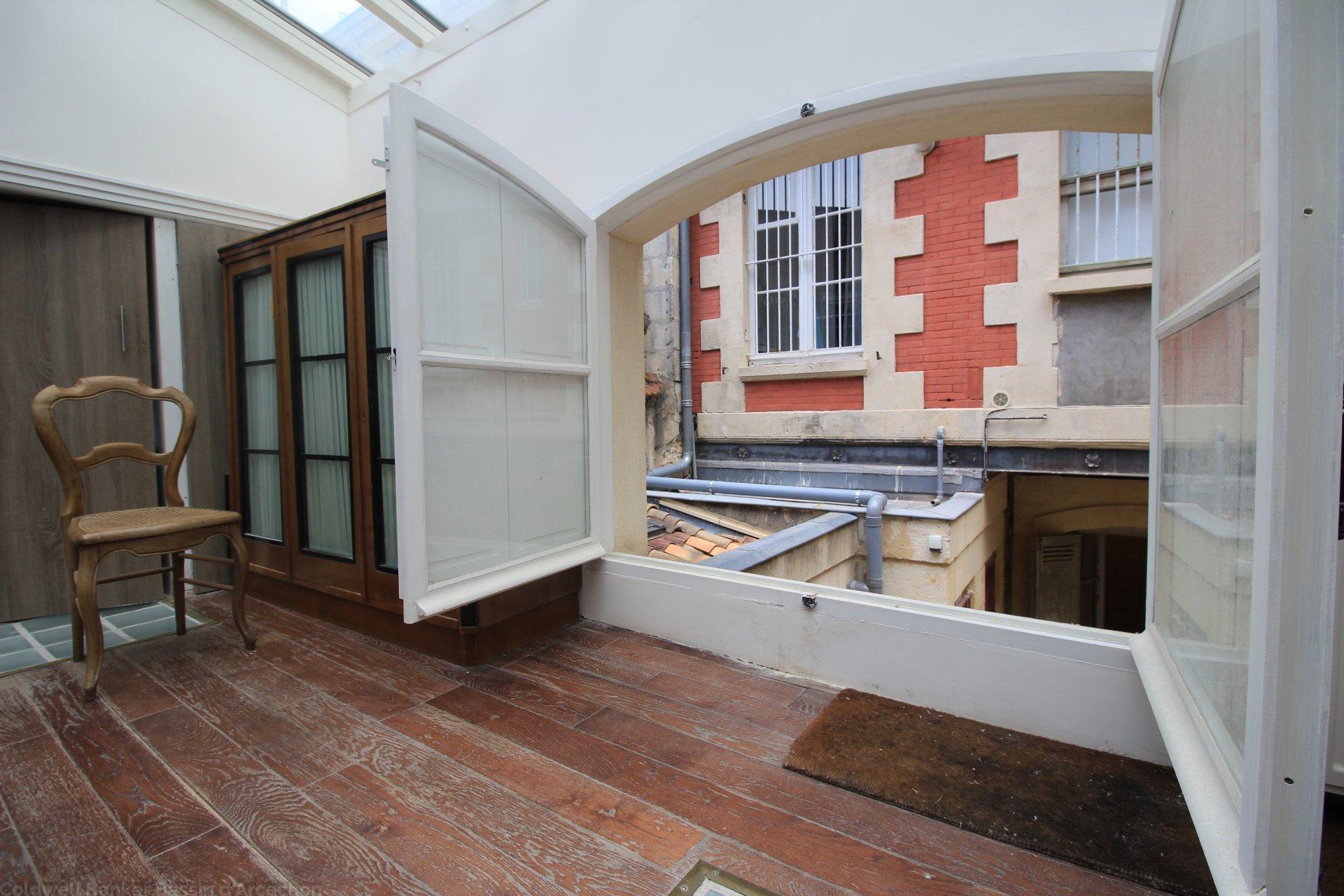 acheter appartement lumineux ancien 3 chambres bordeaux jardin public