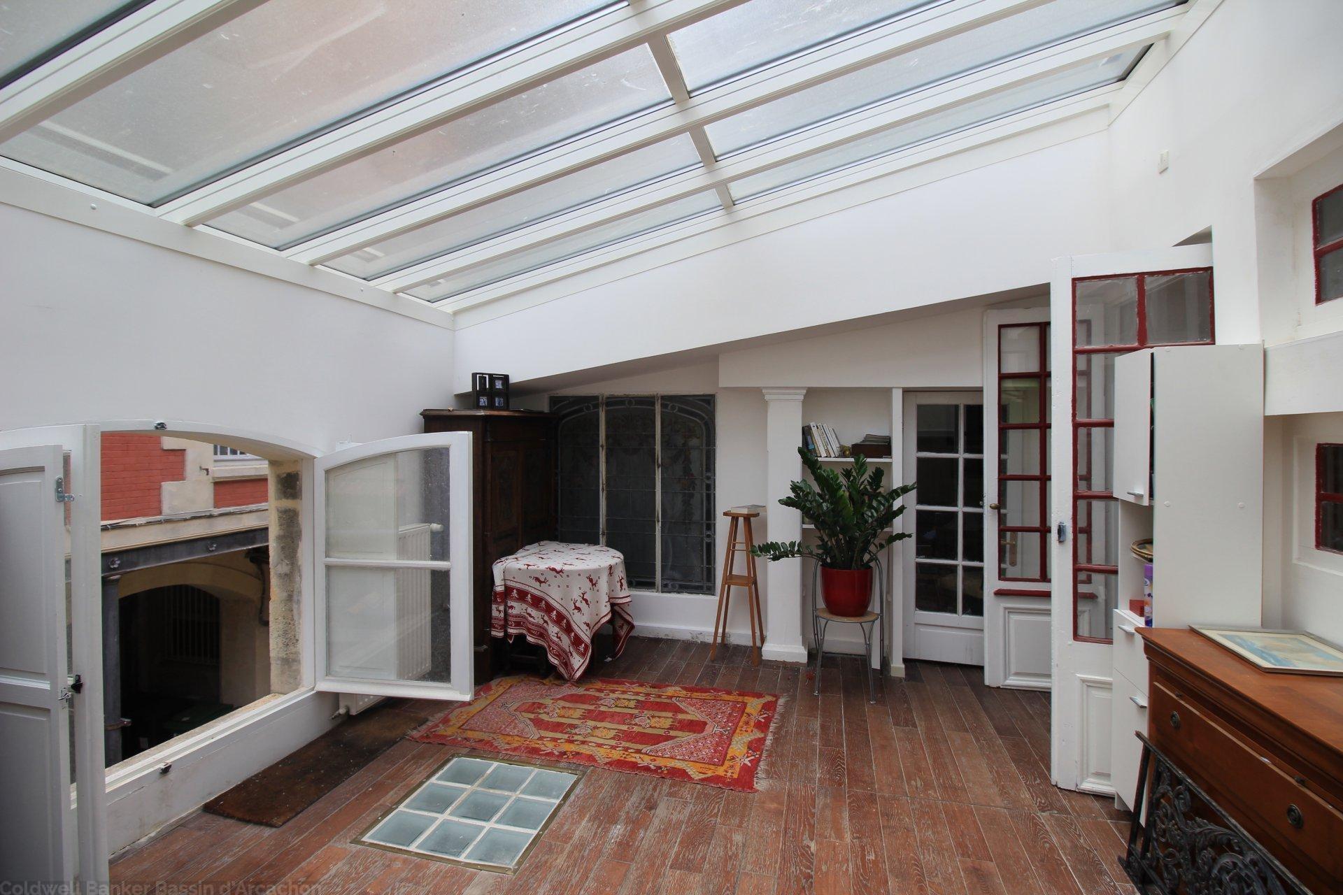 vente appartement duplex 3 chambres bordeaux jardin public