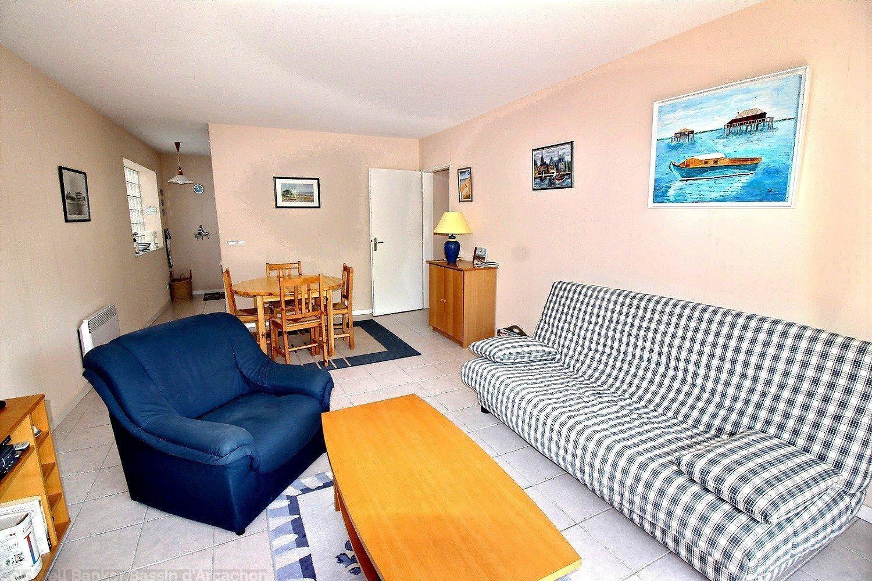 Achat appartement 2 chambres quartier la chapelle arcachon proximité plage et commerces