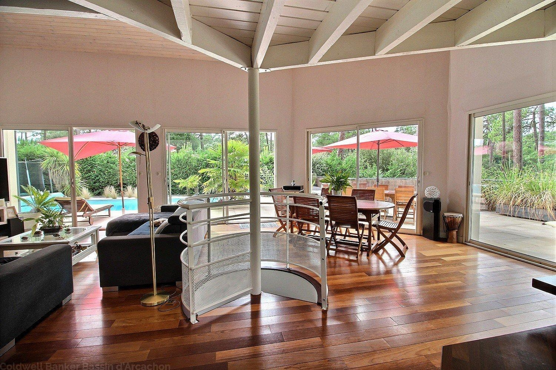 Achat maison de vacances 6 chambres avec piscine proche plage et commerces pyla sur mer le moulleau