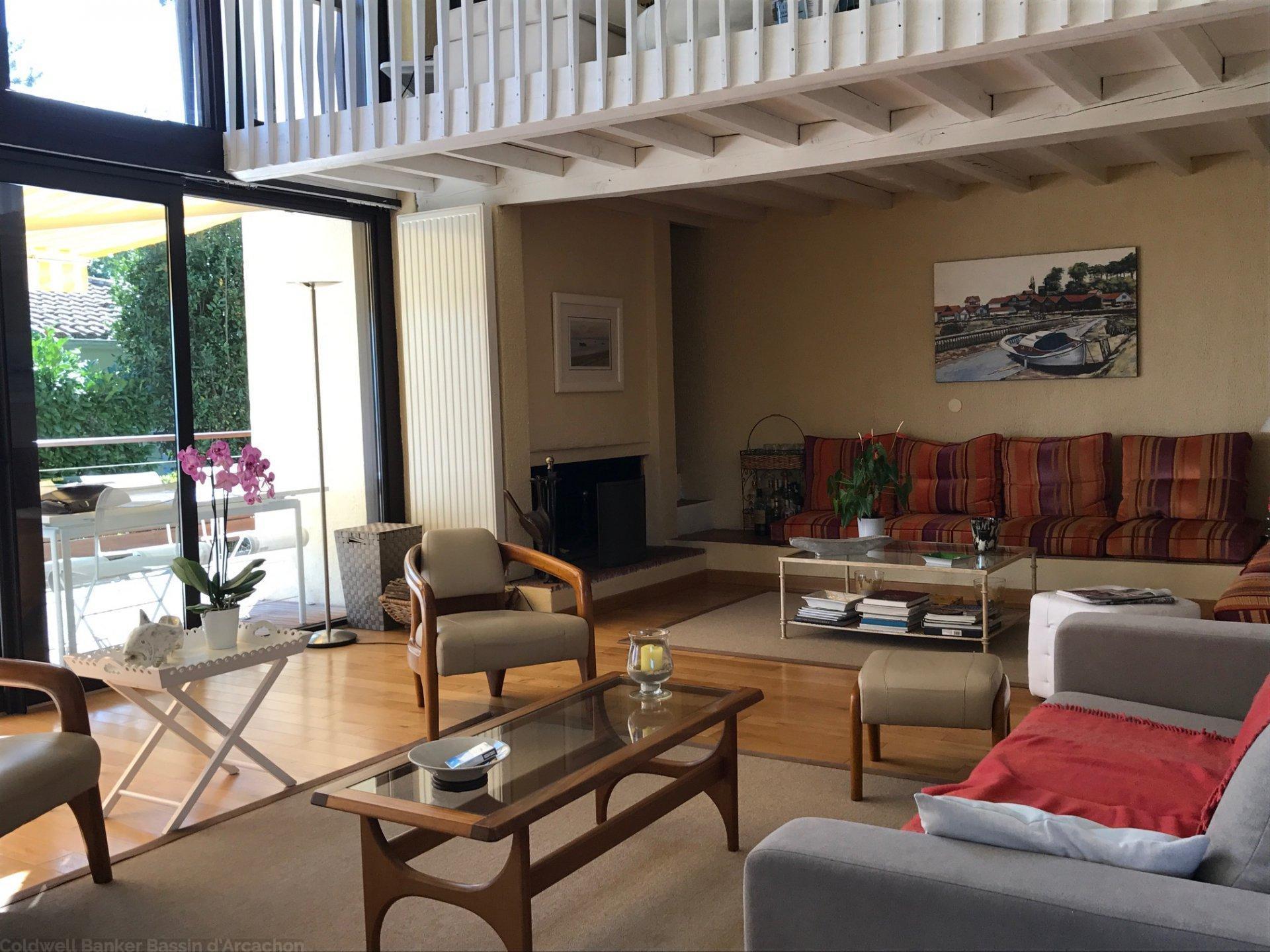 achat maison/villa plus 250 m2 proche plage et commerces le canon cap ferret