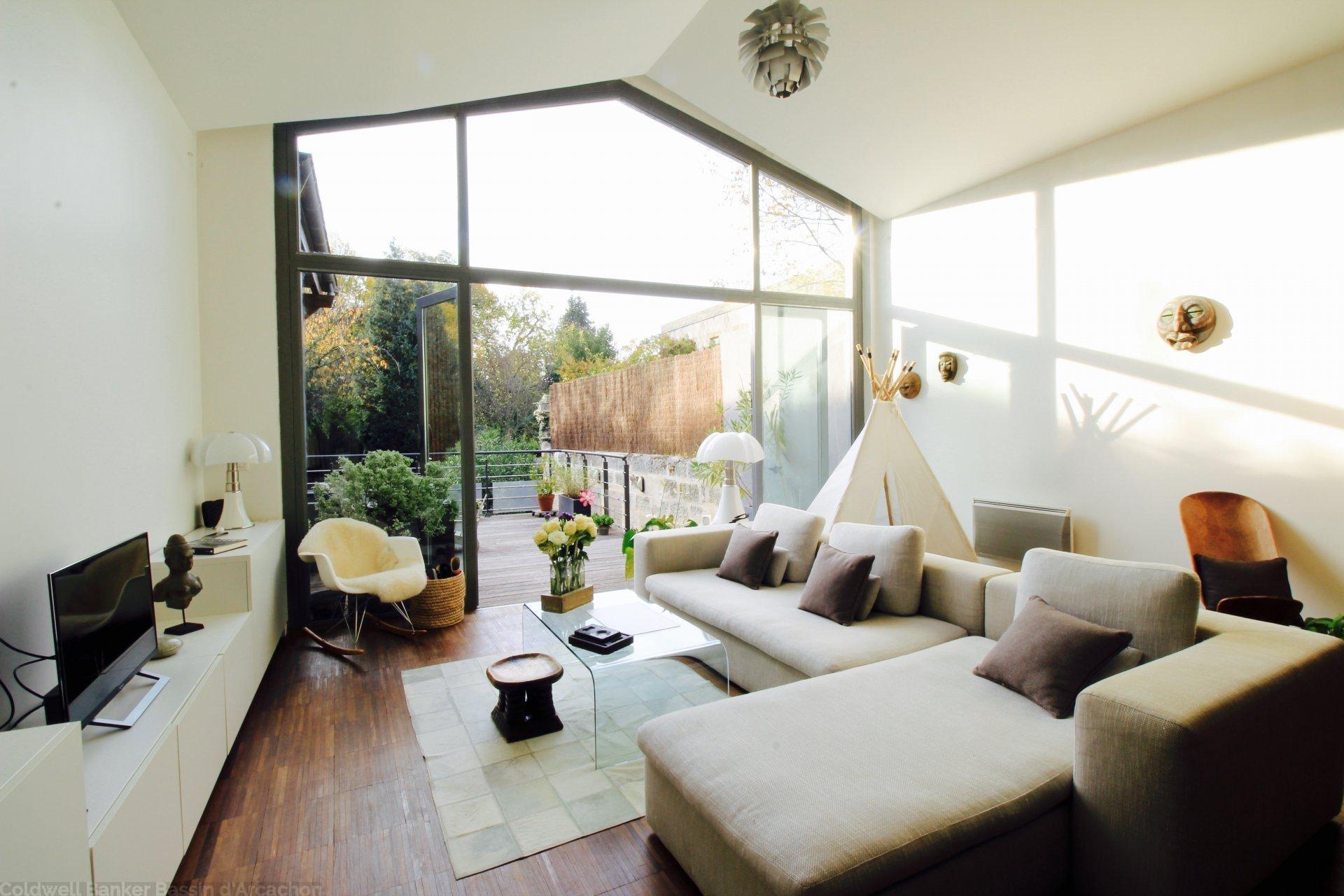 Maison plus 140 m2 3 chambres et jardin a vendre bordeaux barrière de toulouse