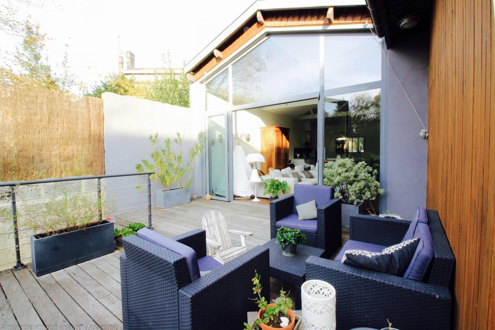 Achat maison plus 140 m2 3 chambres et jardin bordeaux barrière de toulouse