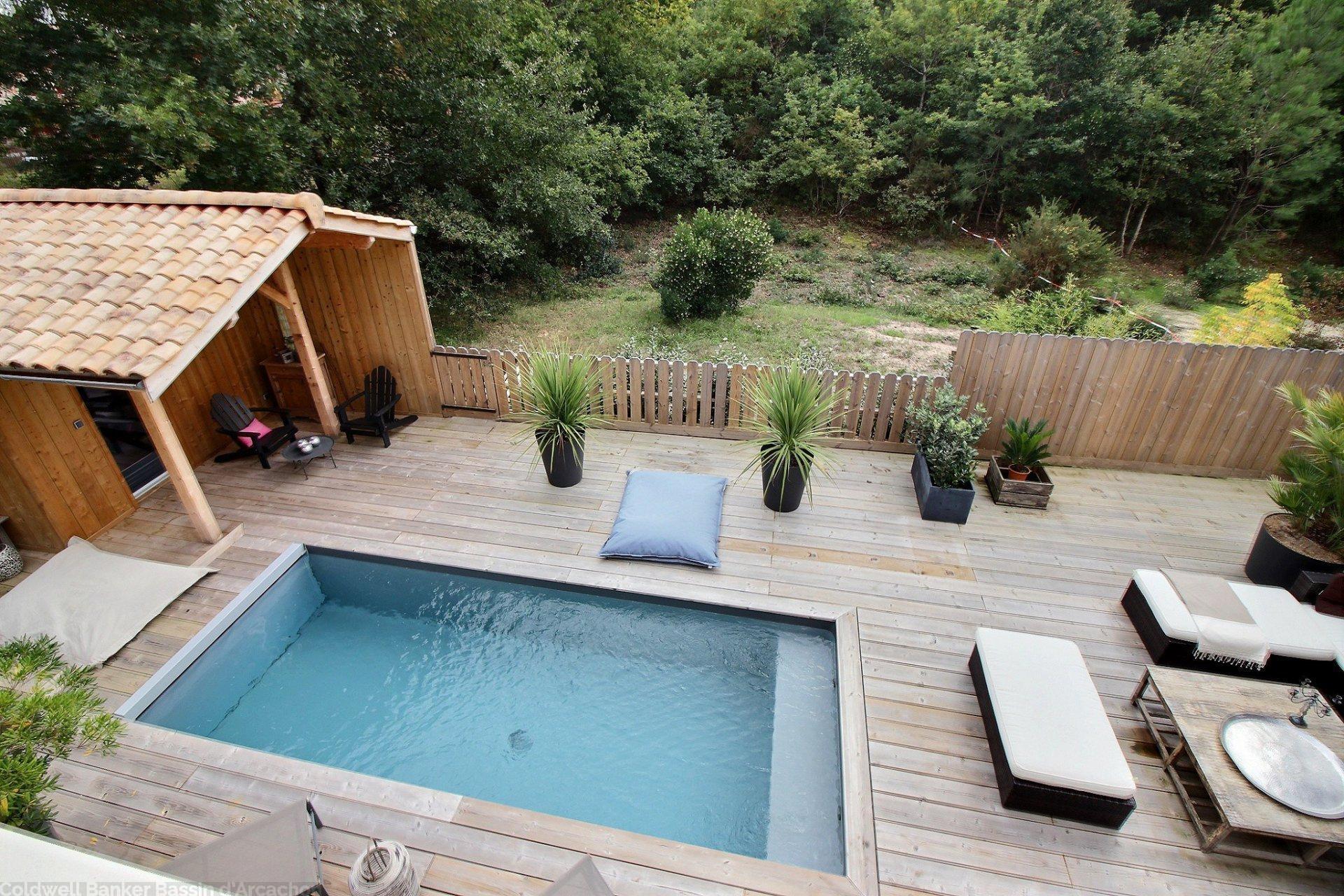 Vente maison villa la teste de buch avec piscine et for Piscine la teste de buch