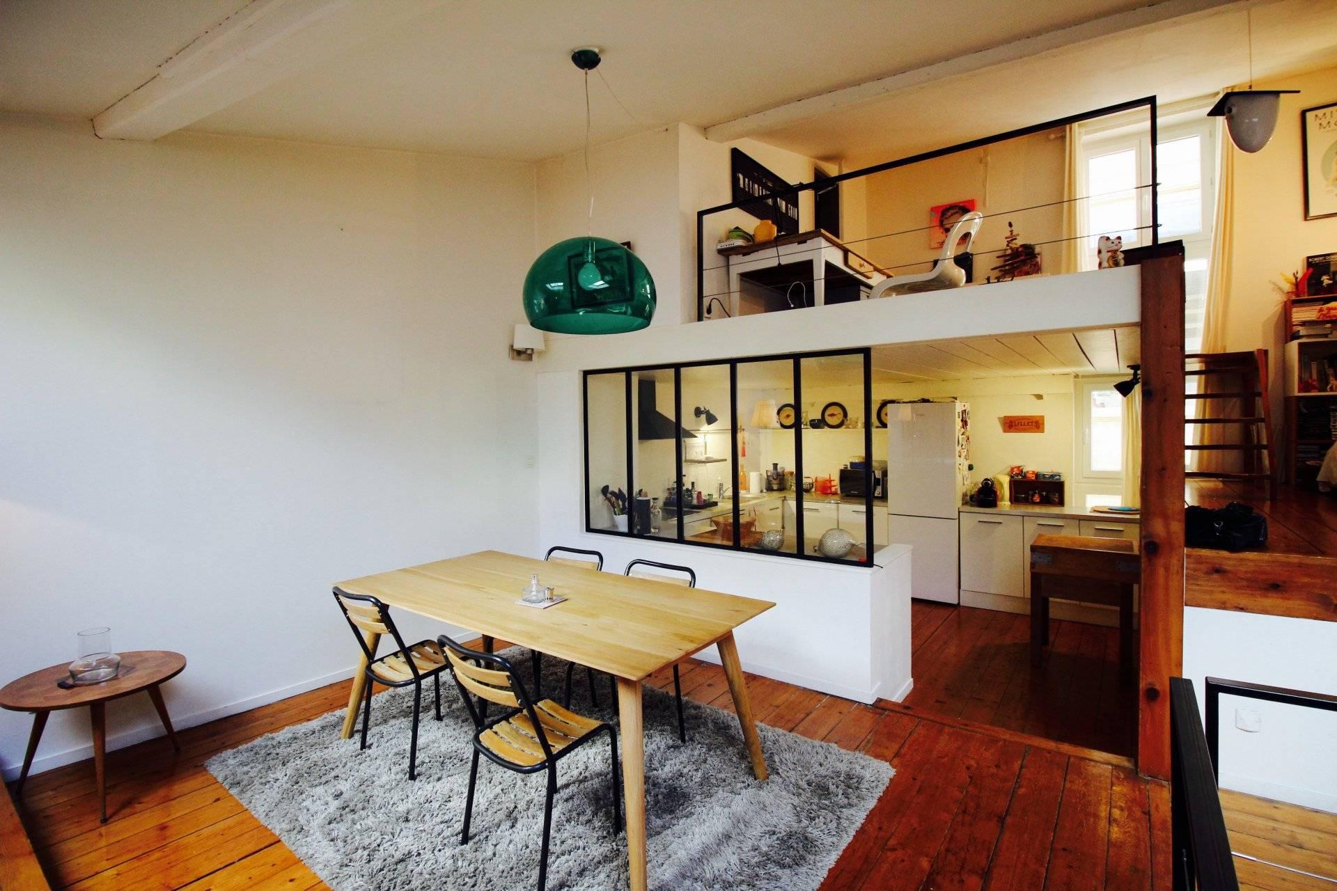 Vente appartement ancien rénové bordeaux saint pierre