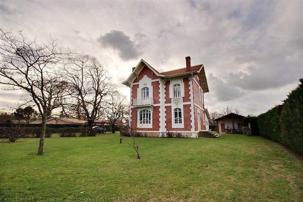 maison arcachonnaise grand terrain a vendre bassin d'arcachon