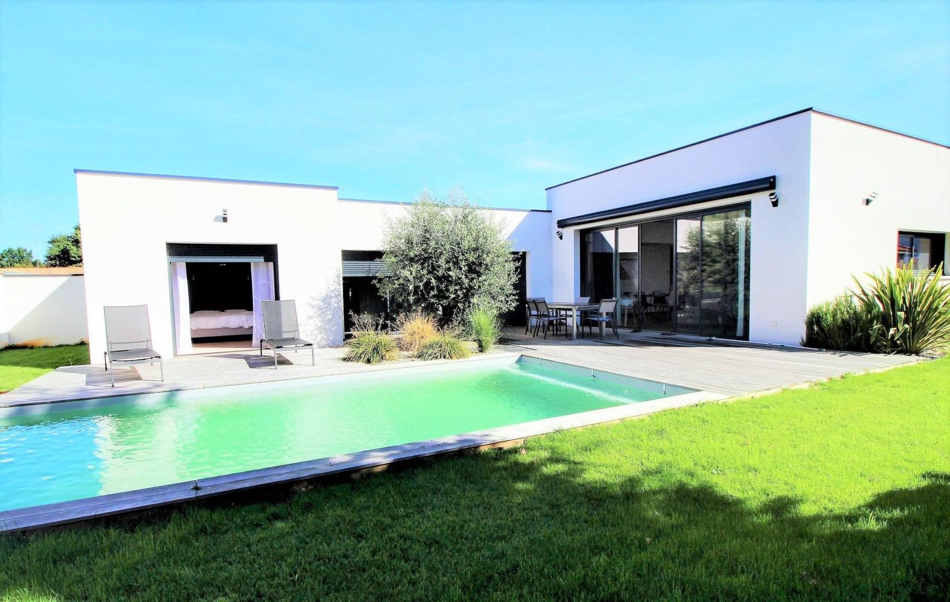 Magnifique maison moderne plain pied 3 chambres à vendre sur le ...