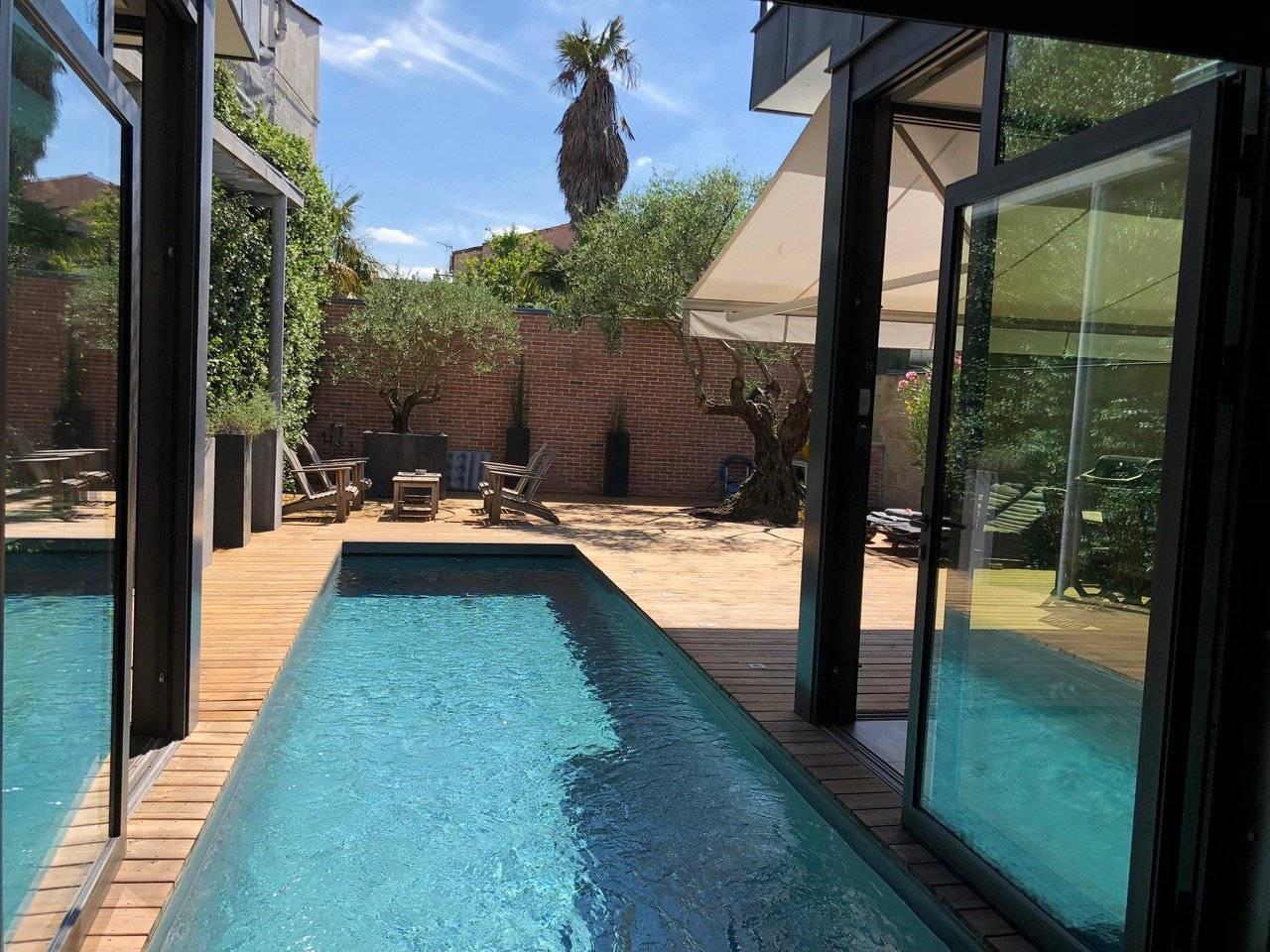 Superbe maison contemporaine avec piscine à vendre BORDEAUX ...