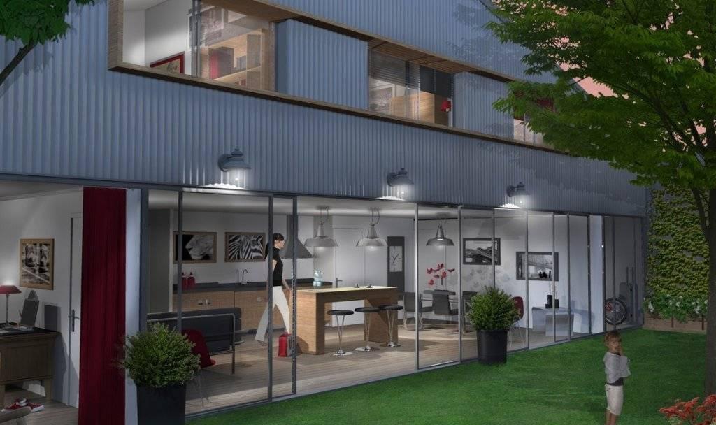 programme immobilier neuf le pation de Nansouty bordeaux