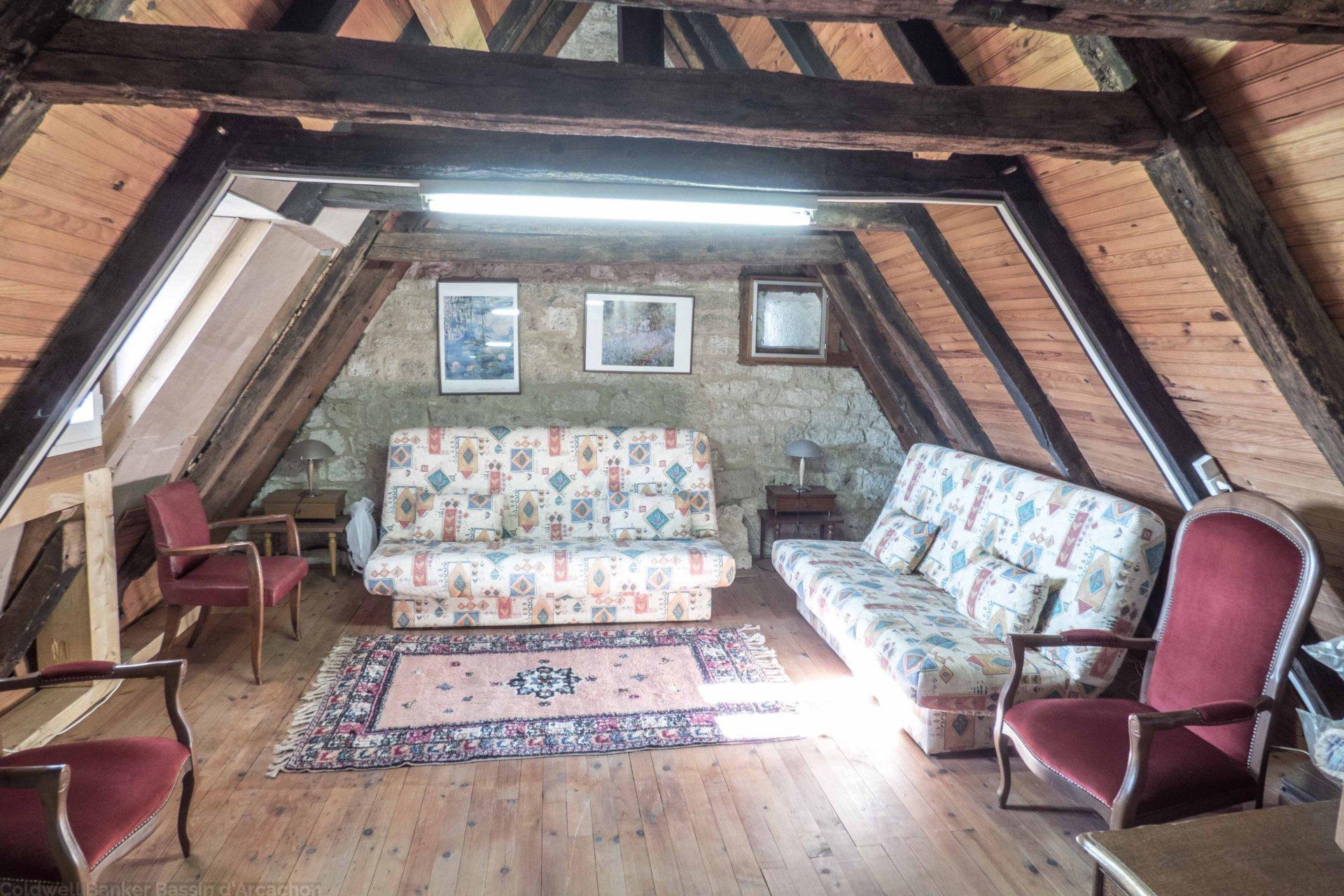Vente maison 2 chambres possibilite 3 proche villereal beaumont du perigord issigeac