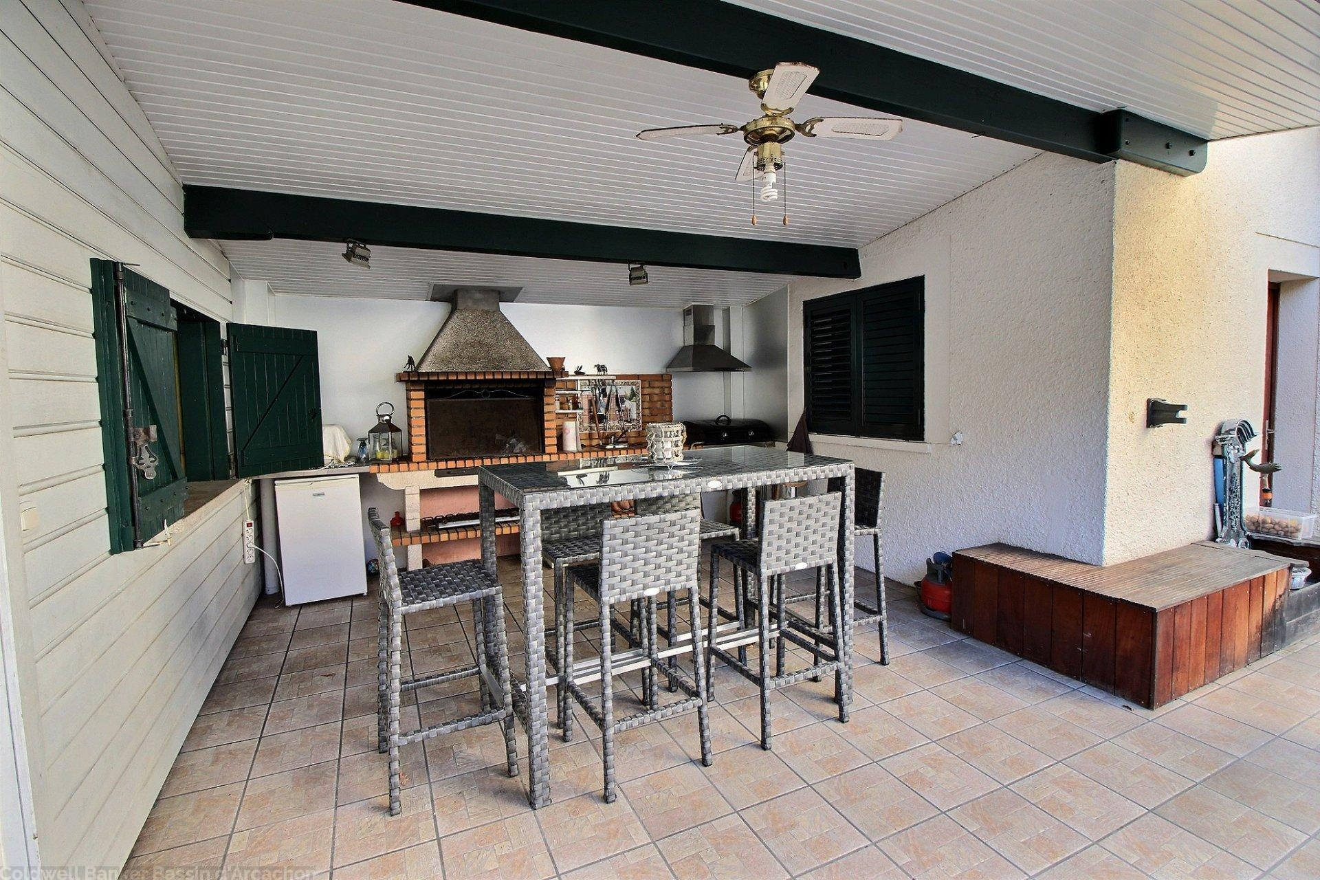 Achat maison familiale 5 chambres avec terrain et piscine basisn d arcachon