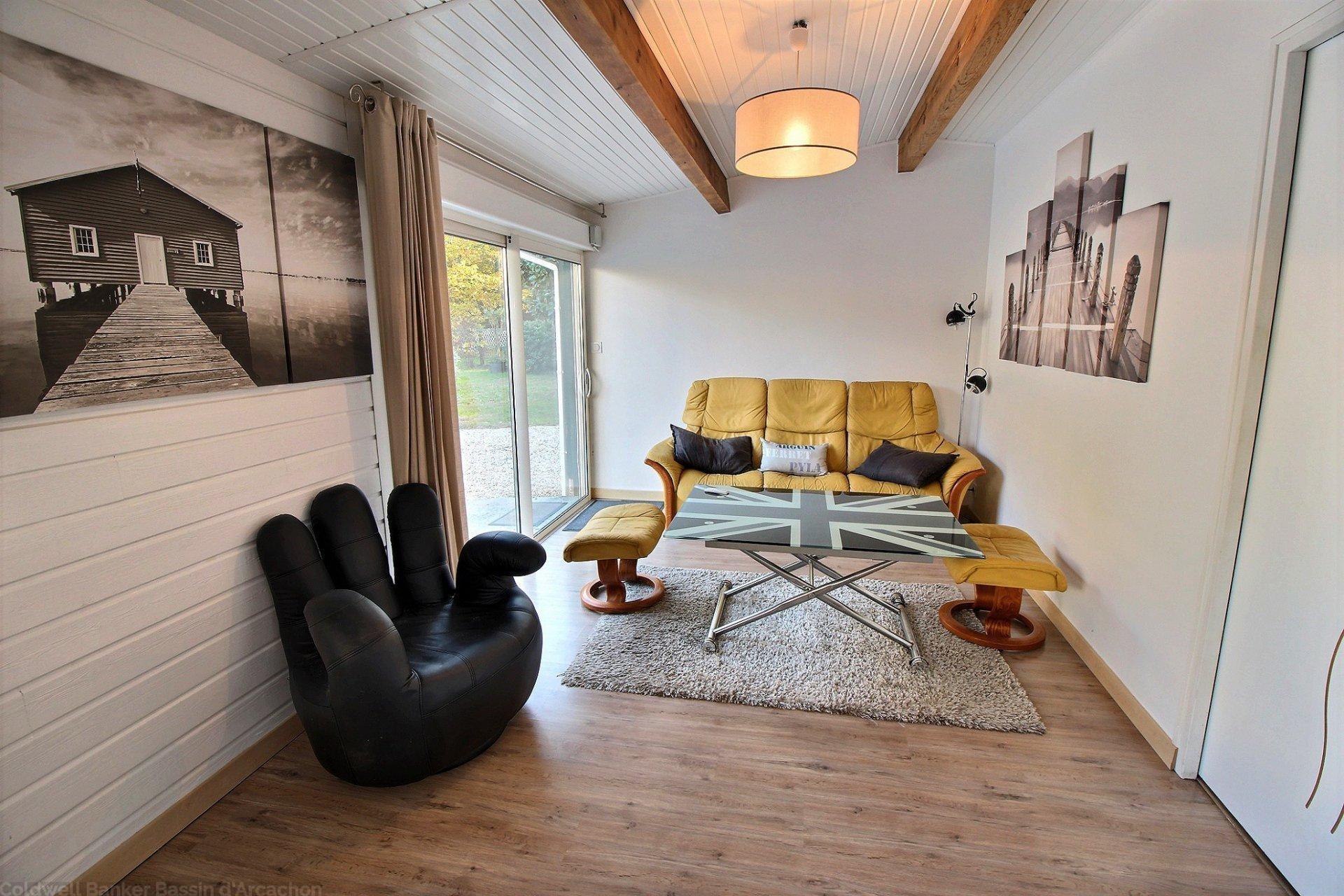 Achat maison familiale 5 chambres avec terrain et piscine gujan mestras