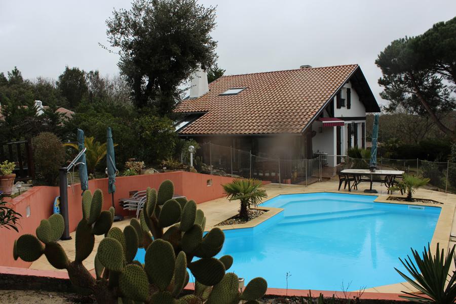villa landaise piscine pyla sur mer