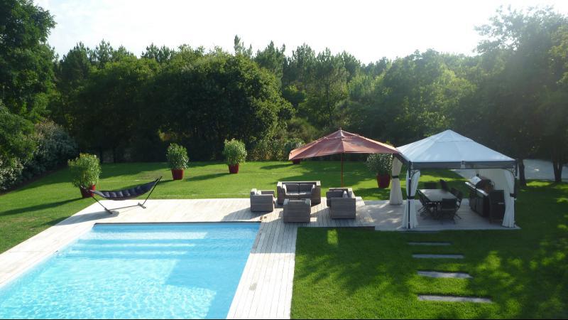 villa d'architecte avec piscine pyla sur mer