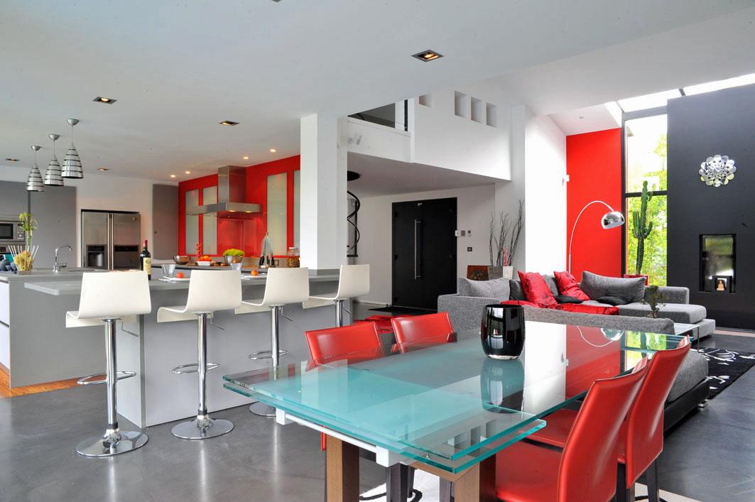 cuisine américaine villa d'architecte pyla