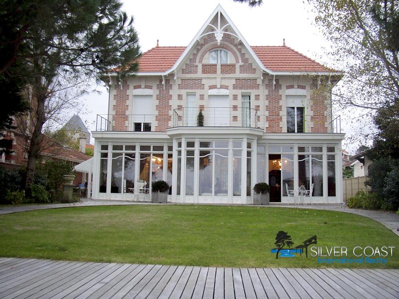 vente villa arcachonnaise de standing Bassin Arcachon