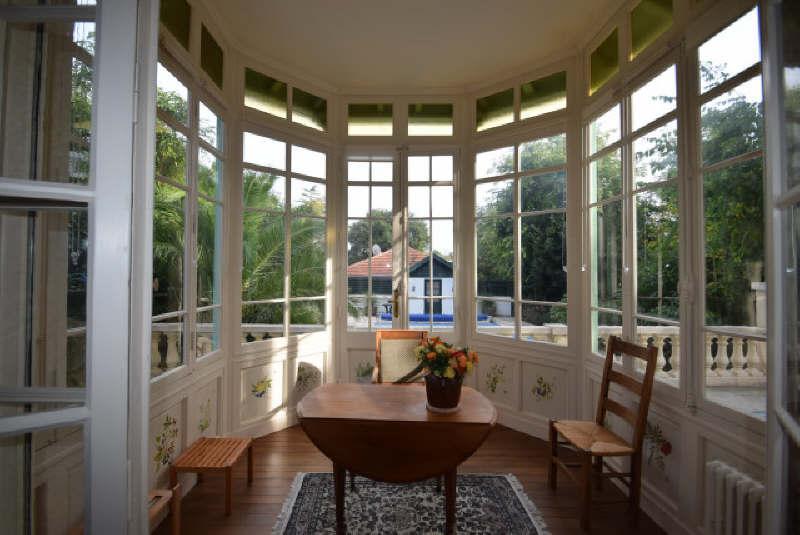 séjour avec vue terrasse villa Arcachonnaise