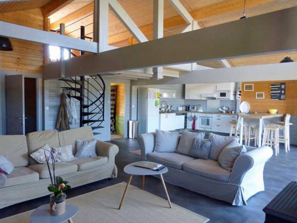 vente maison bois récente arcachon canelot