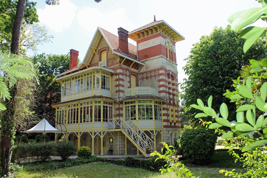 Vente maison villa arcachon ville d 39 hiver proche des - Location maison piscine arcachon ...