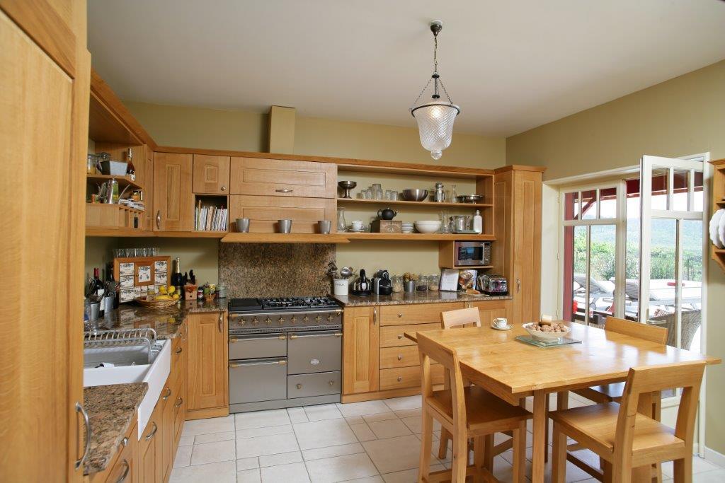 villa cuisine en bois Arcachon