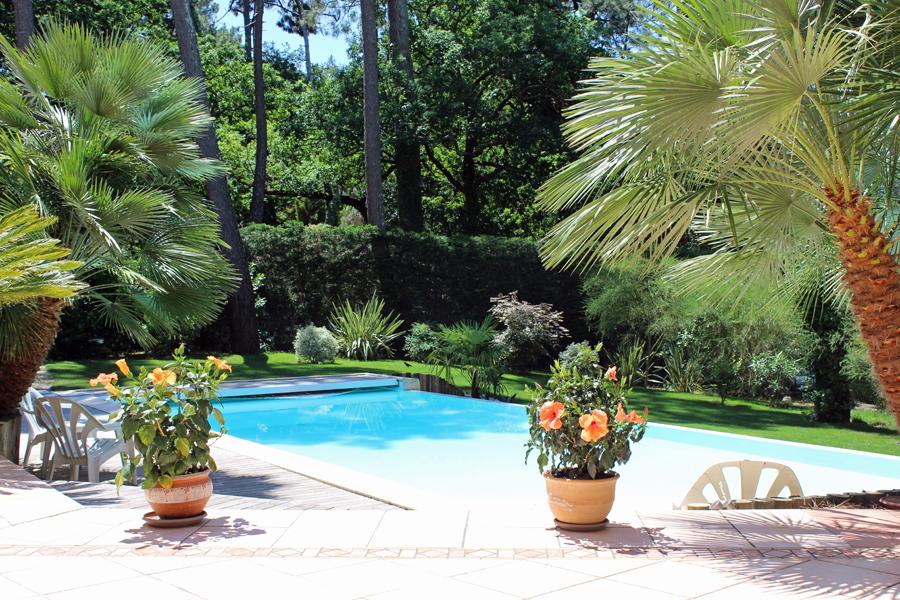 acheter villa de standing avec piscine à débordement Bassin Arcachon