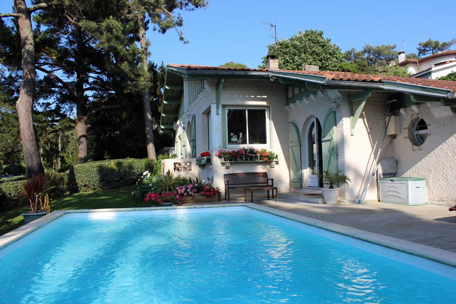 achat maison de prestige avec piscine Pyla sur Mer