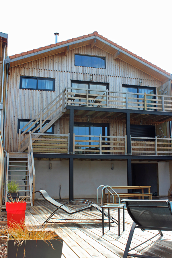 Villa neuve en bois situ e sur le port de plaisance vendre la teste de buch canelot coldwell - Garage volkswagen la teste de buch ...