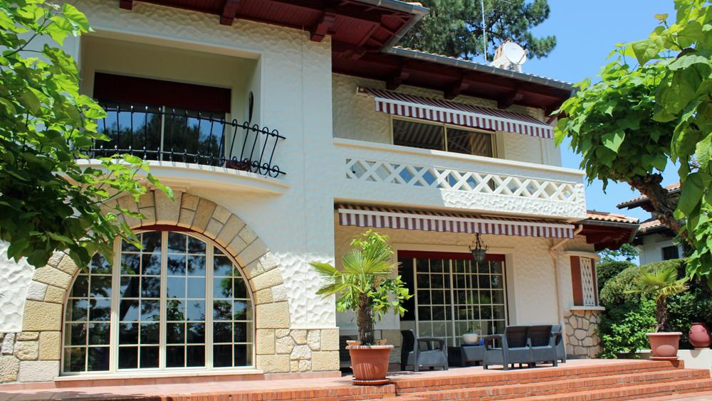 Villa ville d'automne Arcachon villa dominante