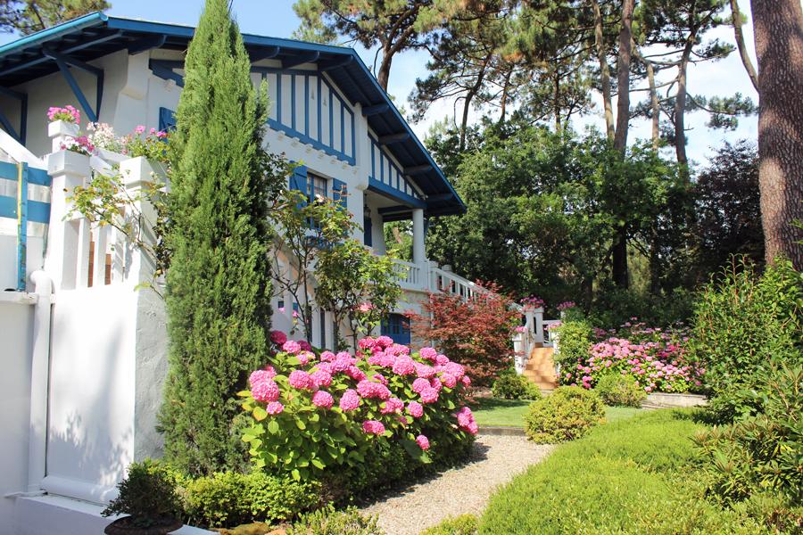 vente magnifique avec jardin paysage pyla sur mer