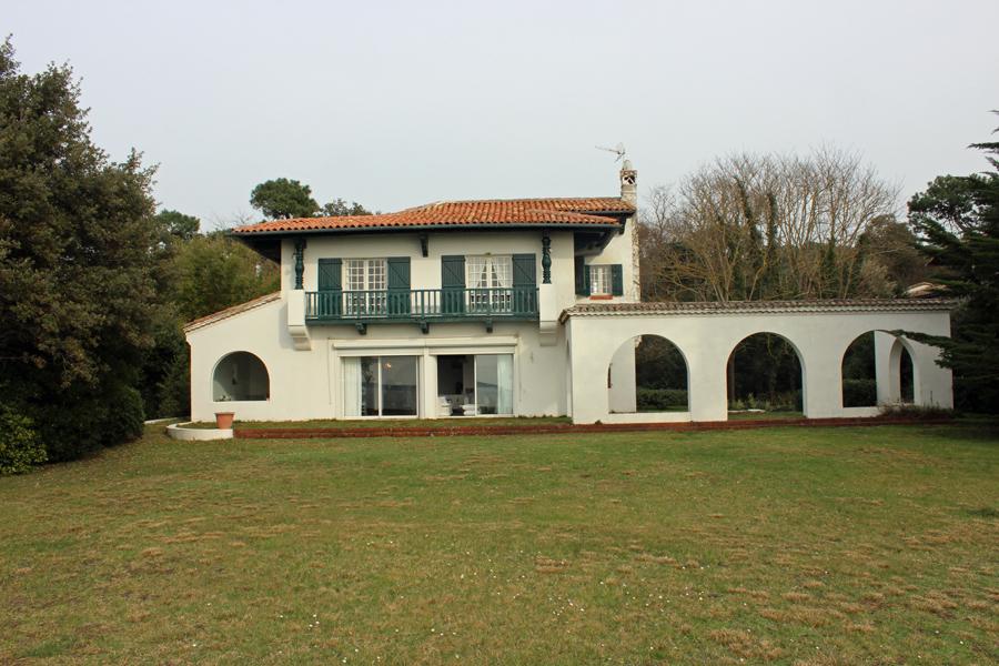 Villa landaise Pyla sur mer 1ere ligne