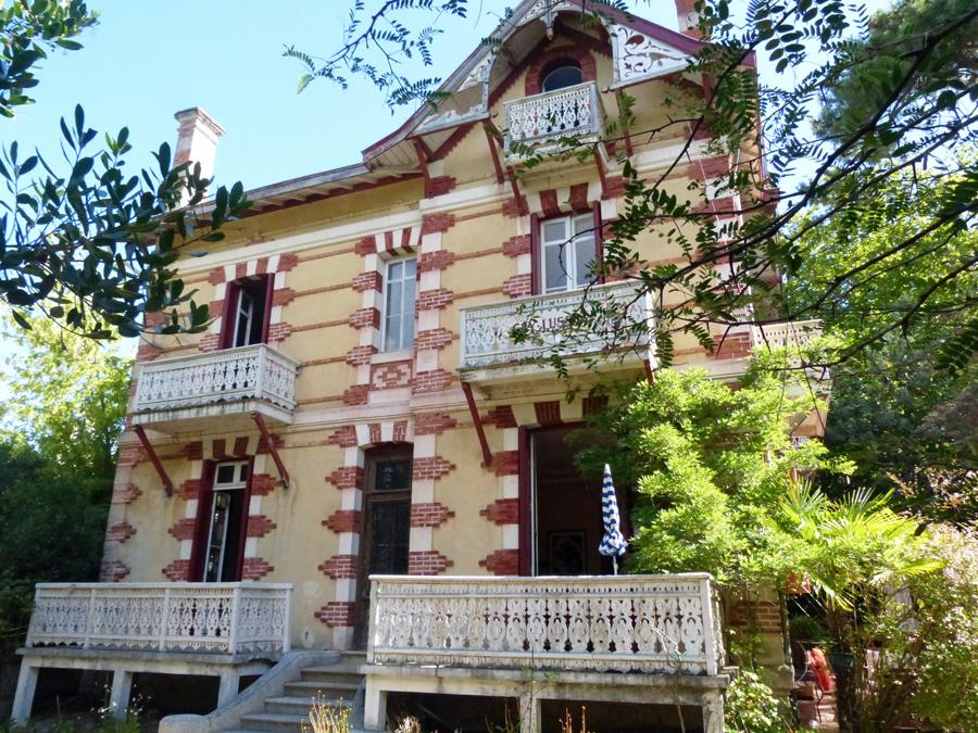 belle demeure familiale à vendre ville d'hiver Arcachon