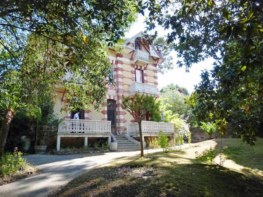 villa de luxe à vendre arcachon ville d'hiver