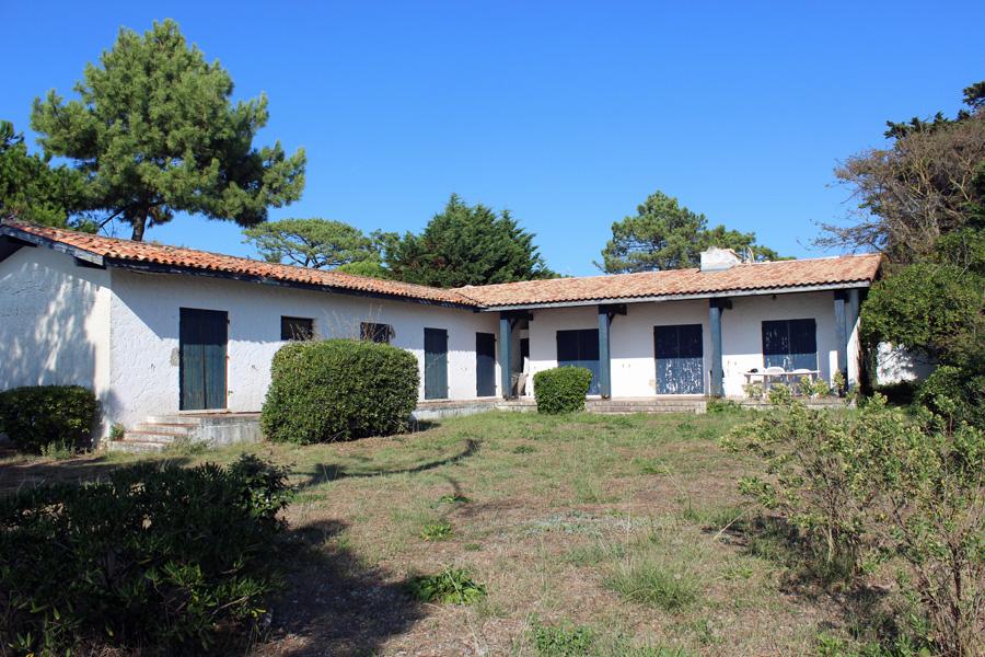 villa à vendre de plain pied 6 chambres à rénover vue bassin Pyla du Mer