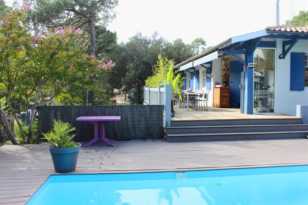 Vente maison villa arcachon abatilles avec piscine - Location maison piscine arcachon ...