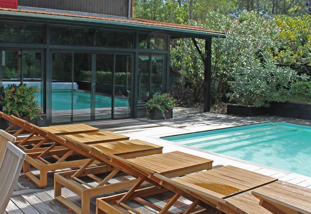 villa de luxe familiale avec piscine à la vente cap ferret