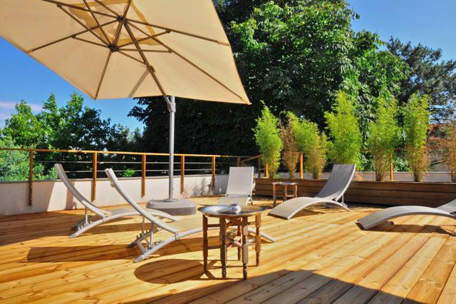 terrasse maison solarium Cap ferret