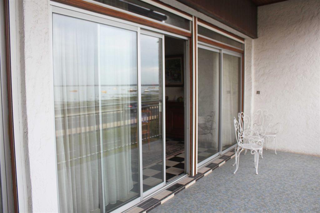 terrasse avec vue mer cap ferret